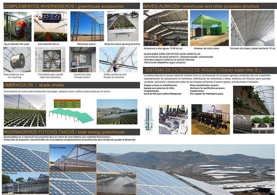 Foto 2 de Fabricación y creación de proyectos integrales para la agricultura protegida en Murcia | Global Invernaderos Greenhouse