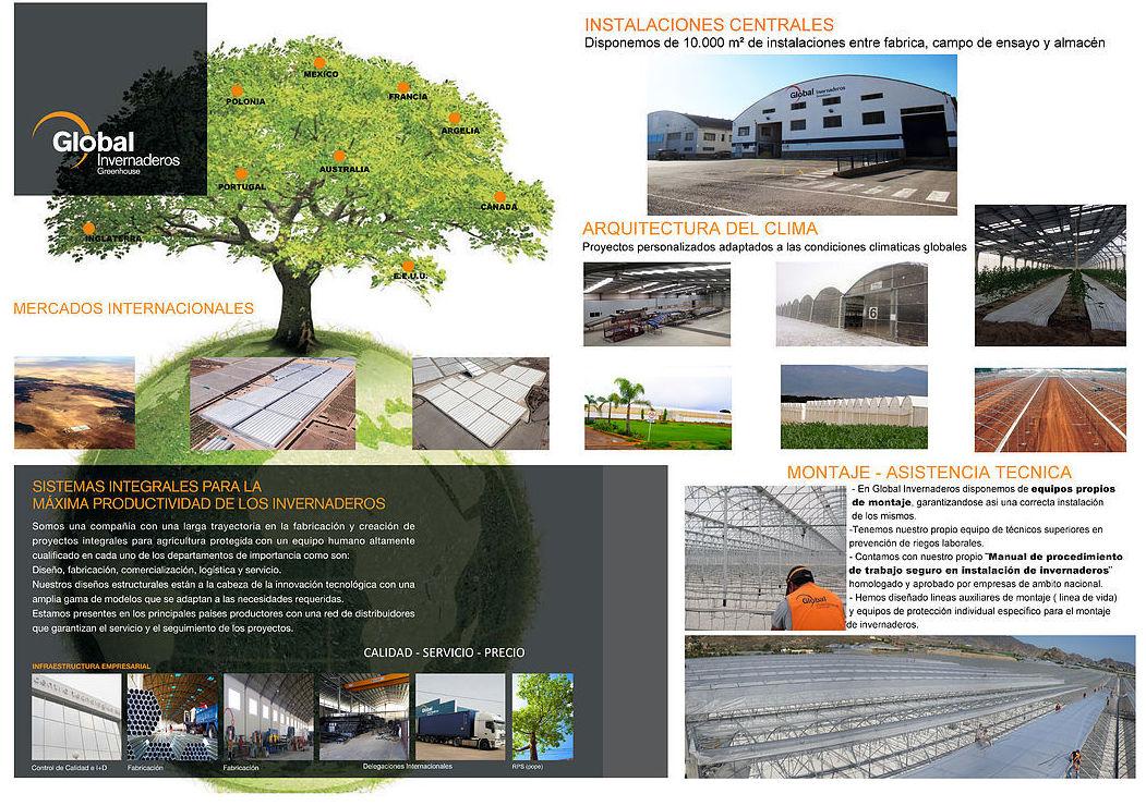 Foto 3 de Fabricación y creación de proyectos integrales para la agricultura protegida en Murcia | Global Invernaderos Greenhouse