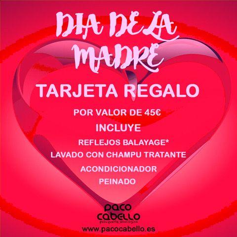 Día de la Madre. Tratamiento pack Balayage: Servicios de Paco Cabello Peluquería Ecológica