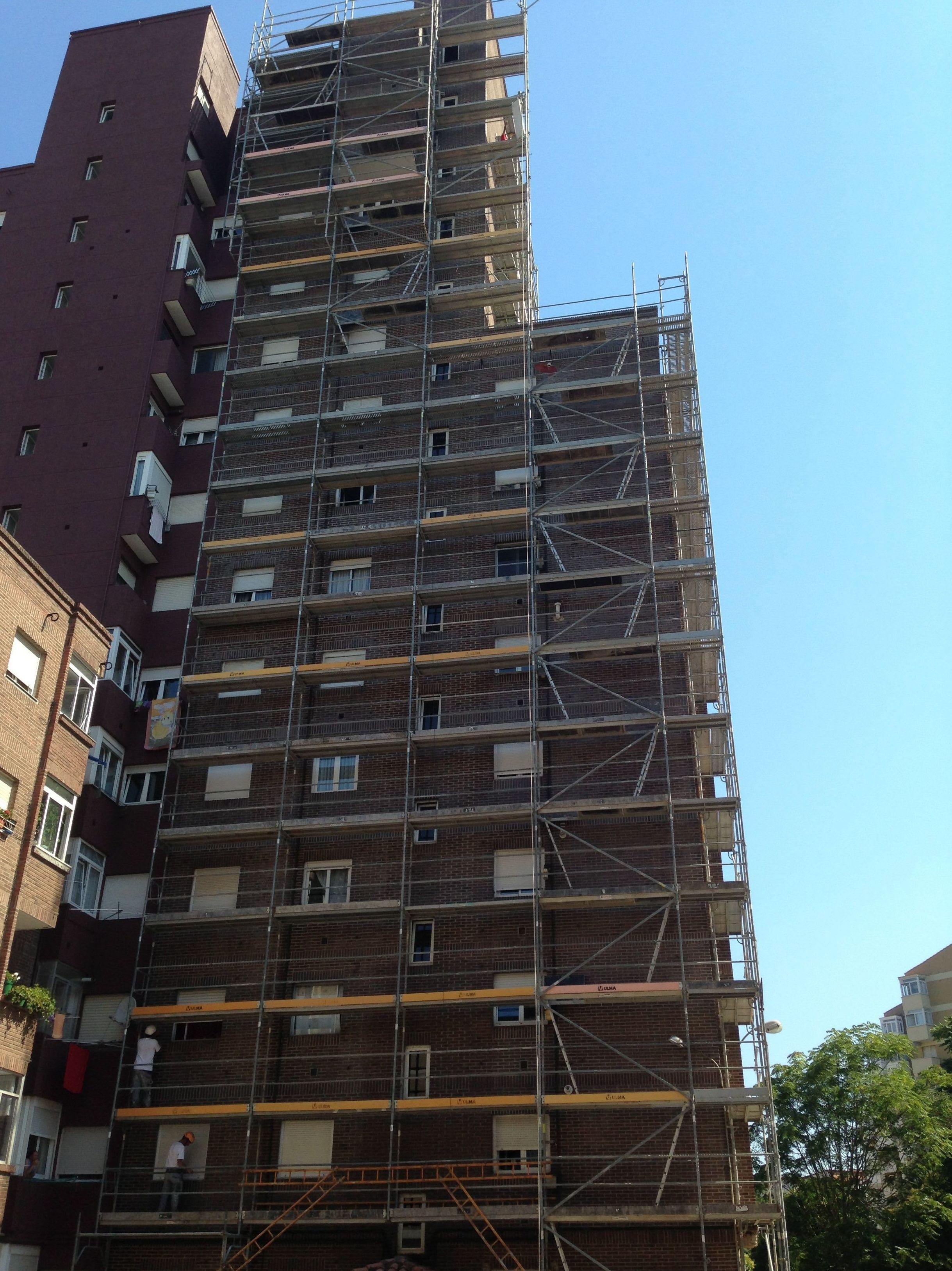 Fachadas Cantabria, impermeabilización de fachadas