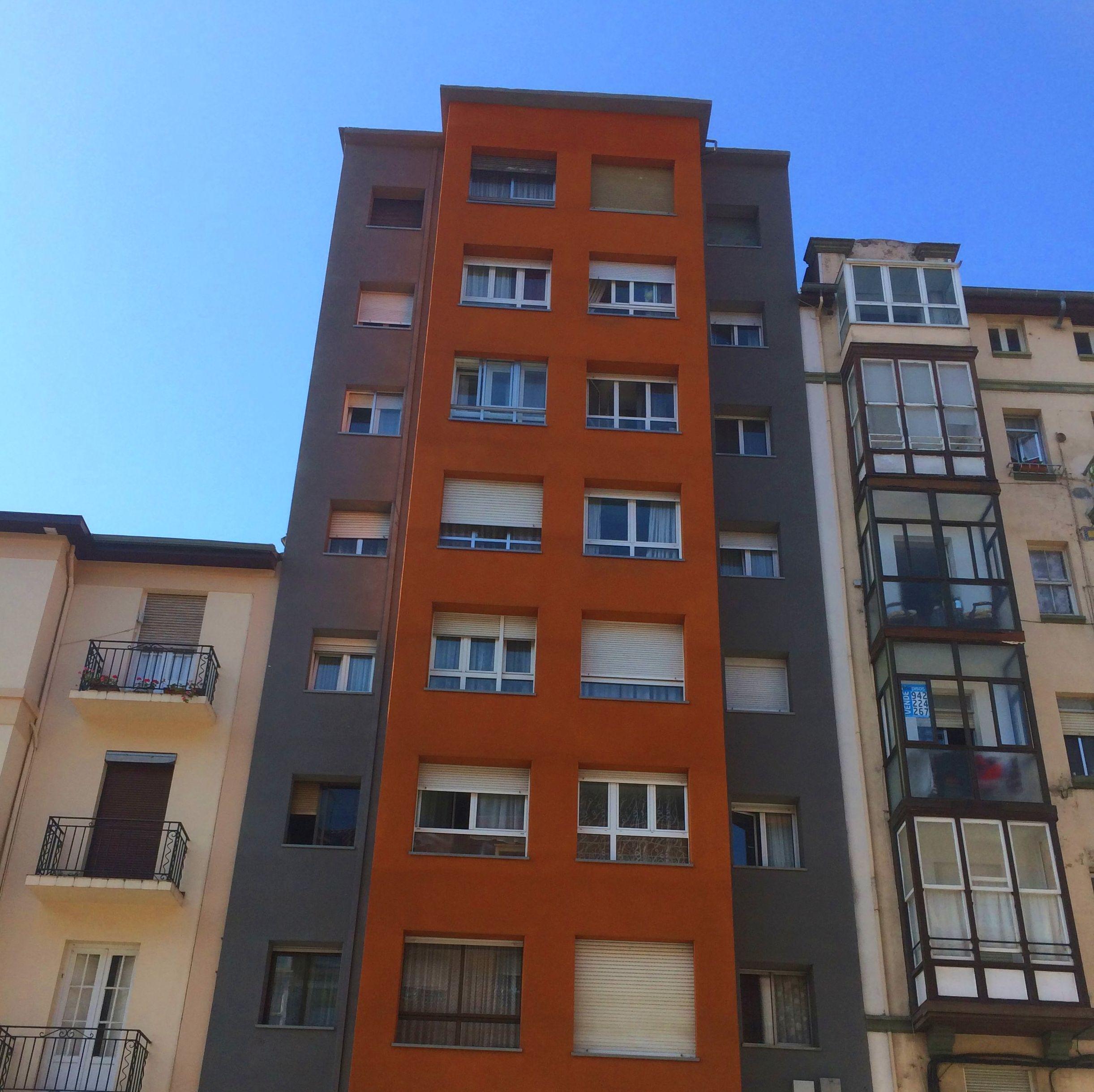 Sistema de aislamiento térmico exterior en Santander-Torrelavega
