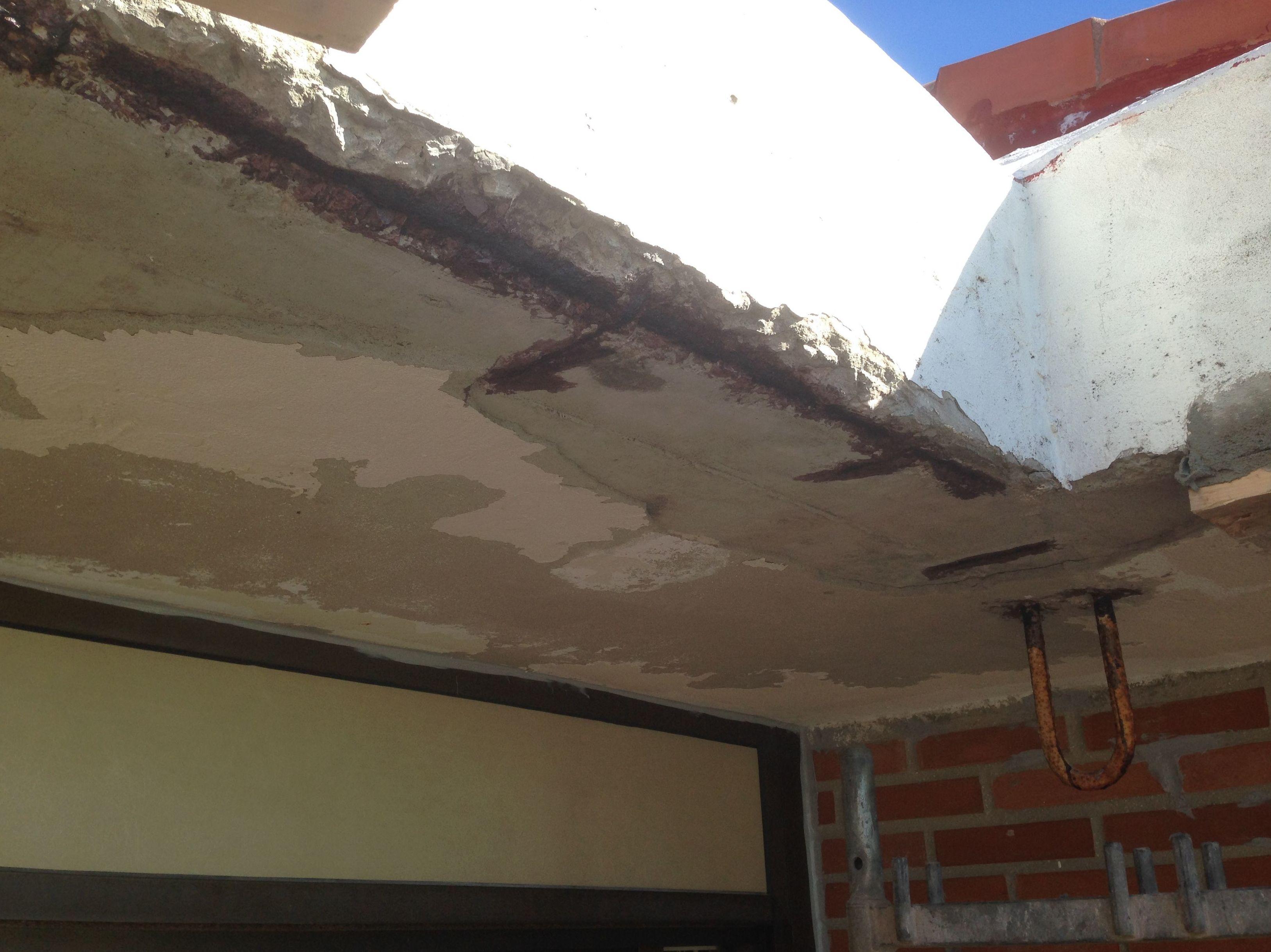 Reparación del hormigón
