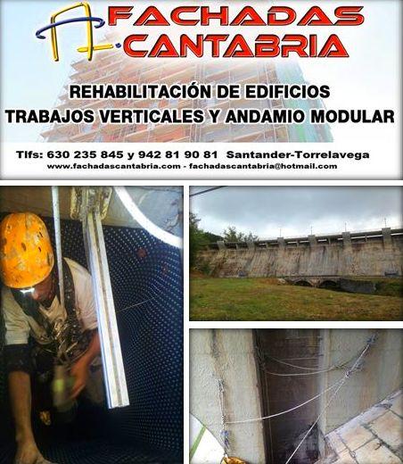 Espacios confinados, trabajos verticales.Cantabria.