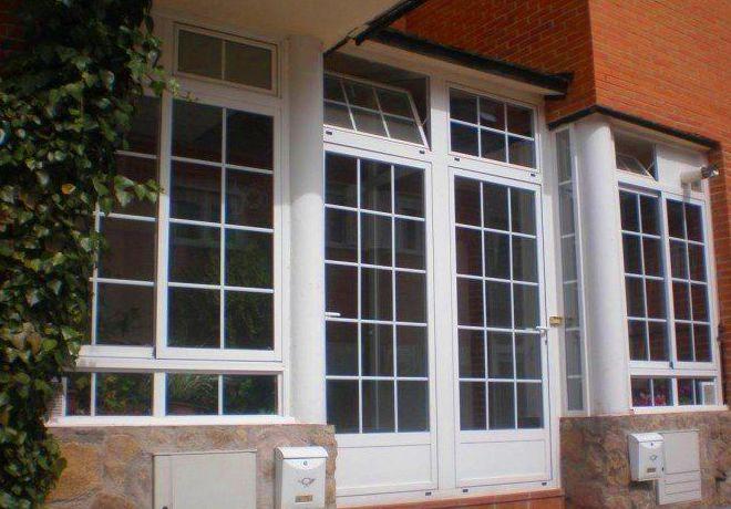 Instalación de ventanales de pvc y aluminio