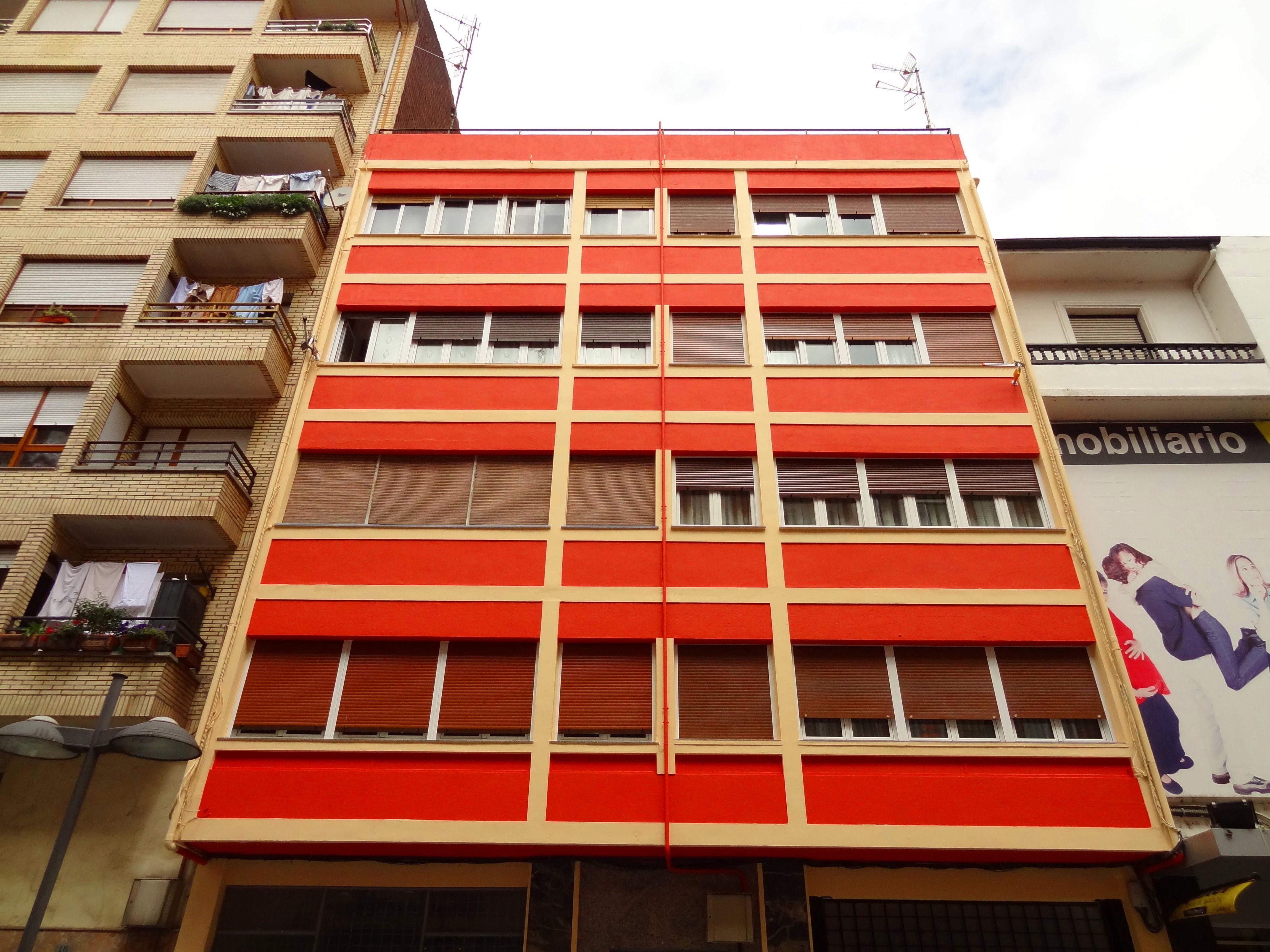 Rehabilitación de fachadas en Torrelavega-Santander