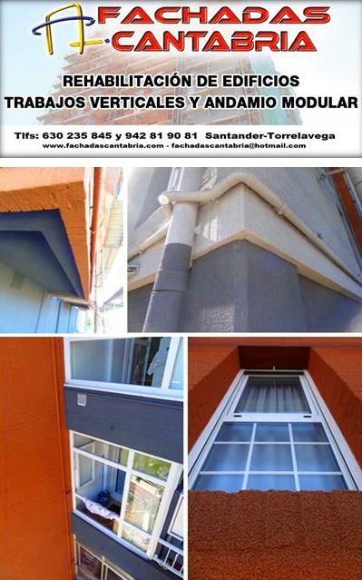 Revestimientos térmicos de fachadas. Rehabilitación de fachadas Santander.