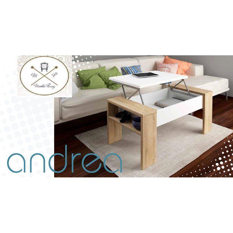 mesa centro modelo andrea productos de muebles pincay