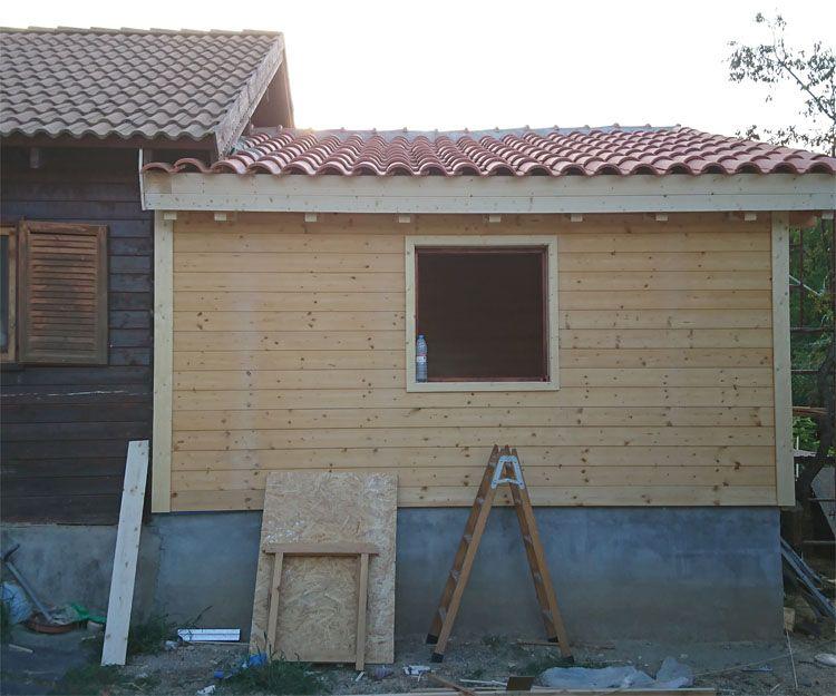 Construcción de casas de madera en Lleida