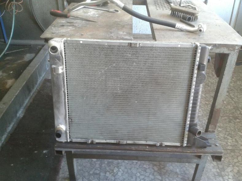 Reparación y limpieza de radiadores de vehículos