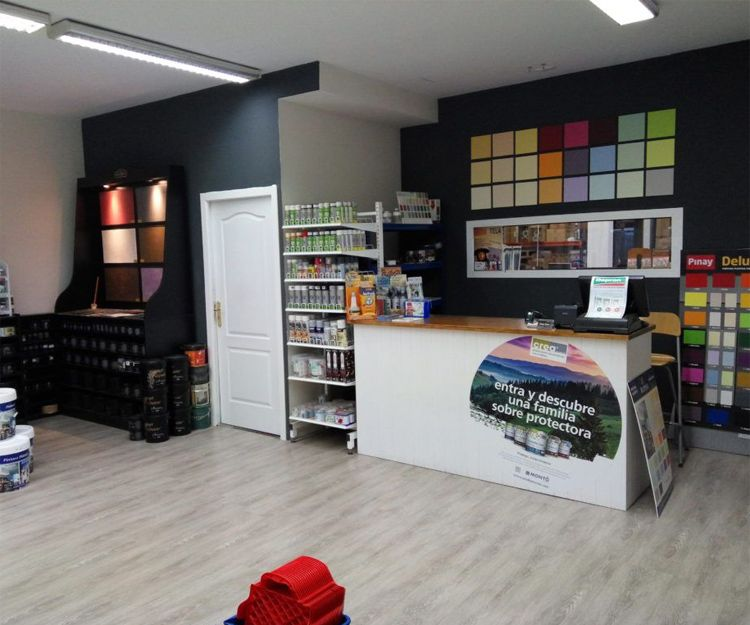Tienda de pintura en Palma de Mallorca