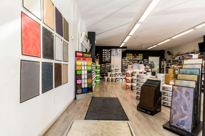 Tienda especializada en todo tipo de pintura en Palma de Mallorca