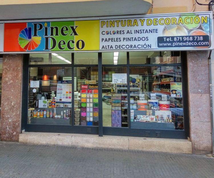 Tienda de pintura decorativa en Palma de Mallorca