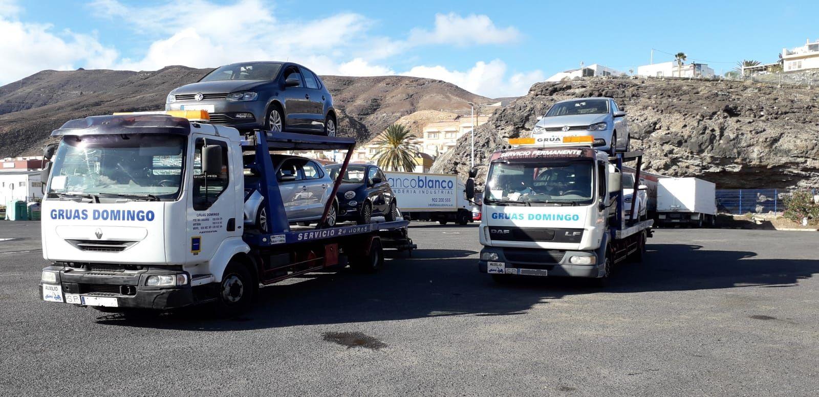 Servicio de grúas permanente en Fuerteventura