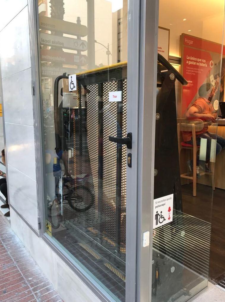 Acceso minusválidos Alicante | Reformas Carrión