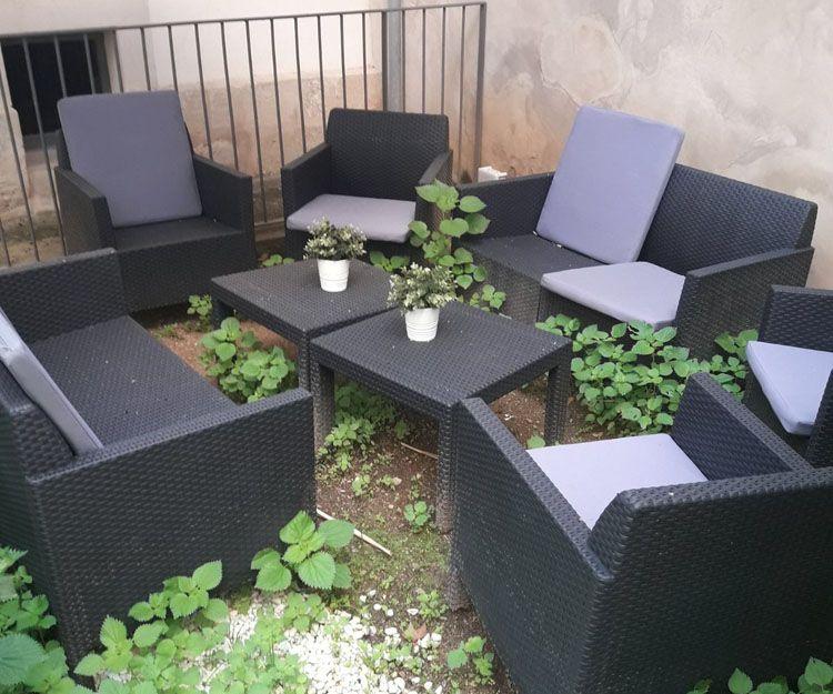 Mobiliario de jardín en Mallorca