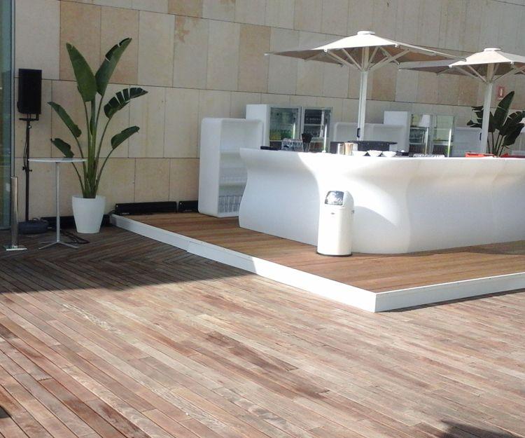 Mobiliario de exterior en Mallorca