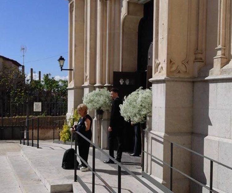 Arreglos florales para bodas en Mallorca