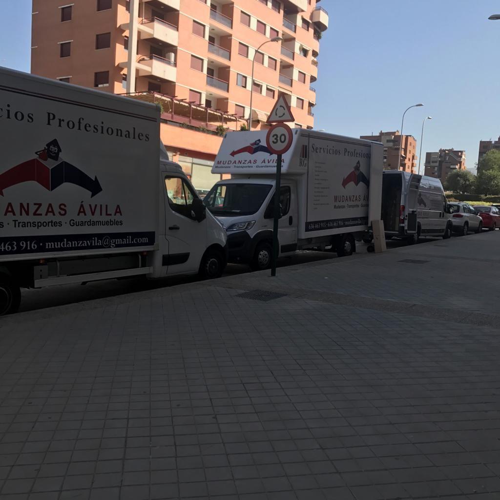 Mudanzas y guarmuebles en Ávila