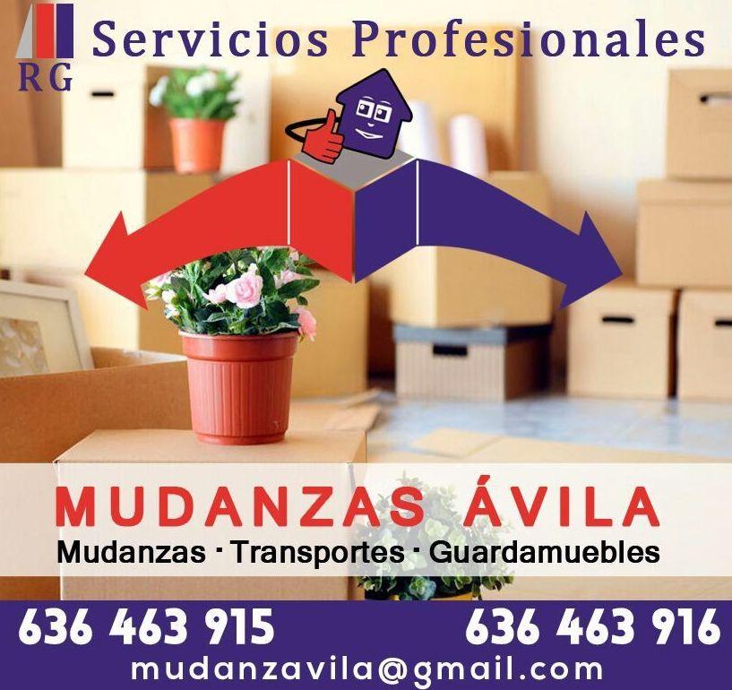 Transportes y mudanzas: Servicios de Mudanzas Ávila