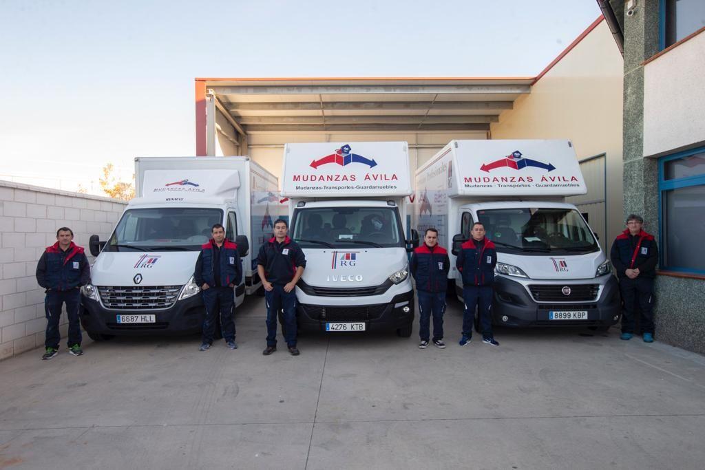 Transportes y mudanzas en Ávila