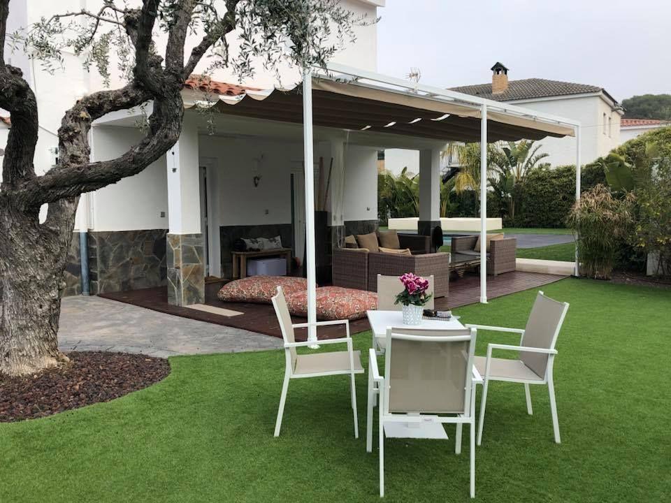 Toldos de jardín y terraza
