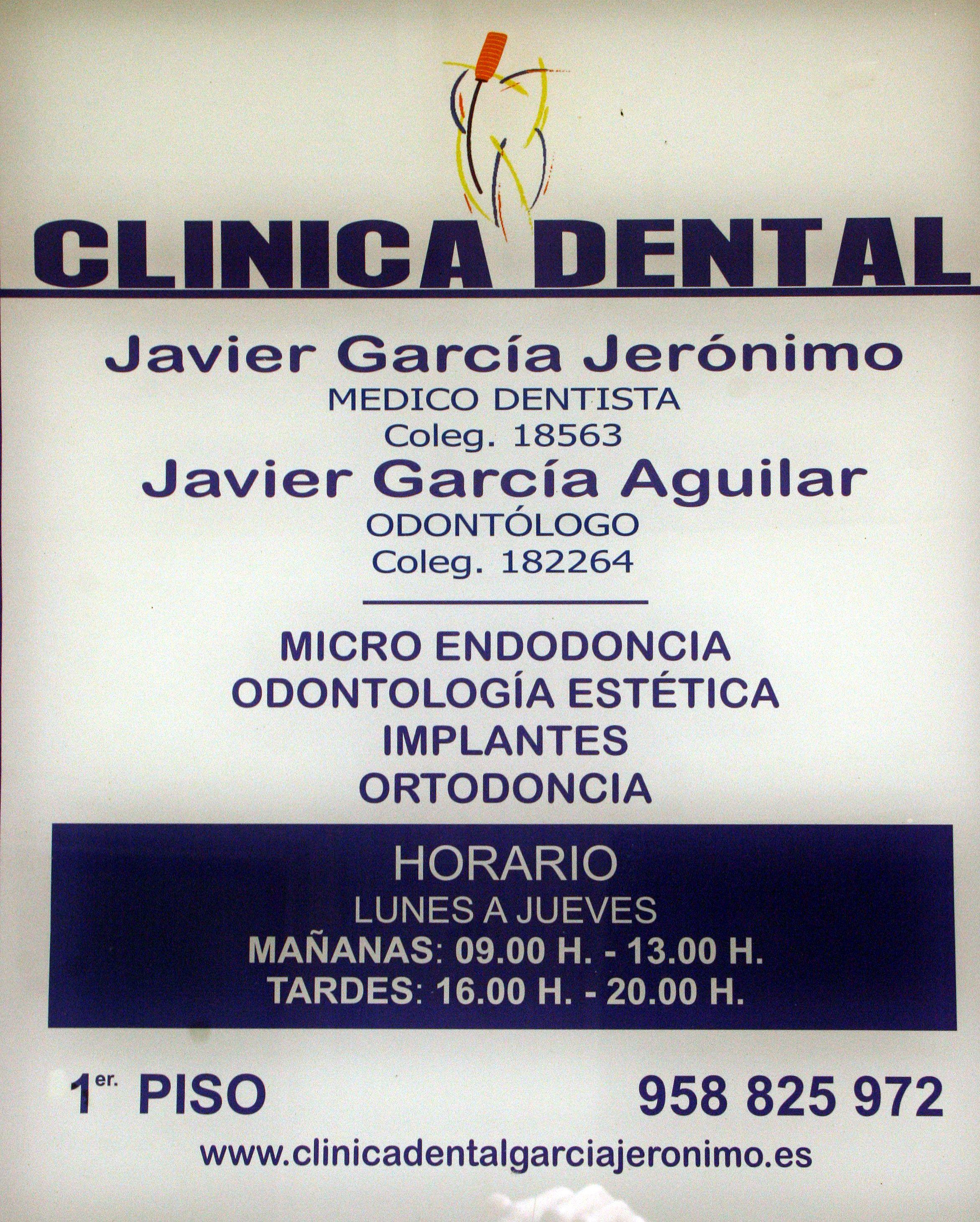 Foto 7 de Clínicas dentales en Motril | Clínica Dental Francisco Javier García Jerónimo