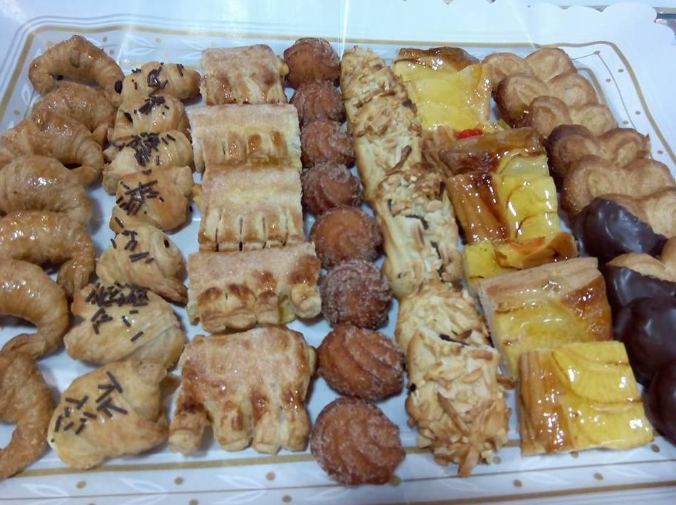 bandejas de pasteles