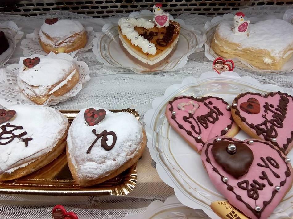 pasteles para san valentin