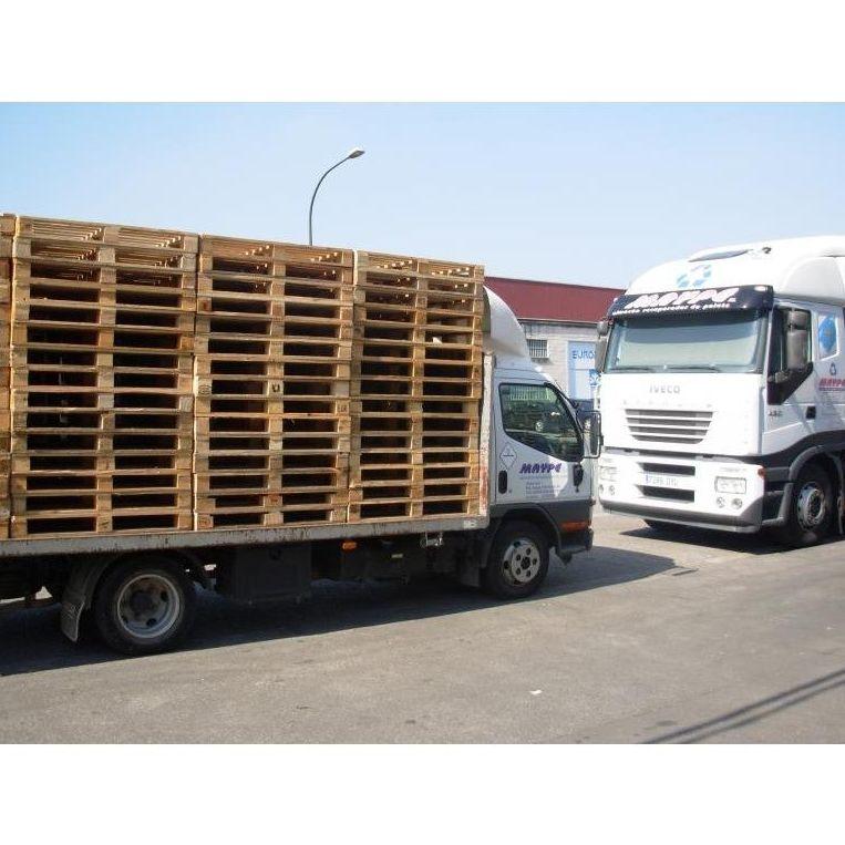 Palets de 800 x 1200 de 3ª: Productos y servicios de Reciclajes Maype