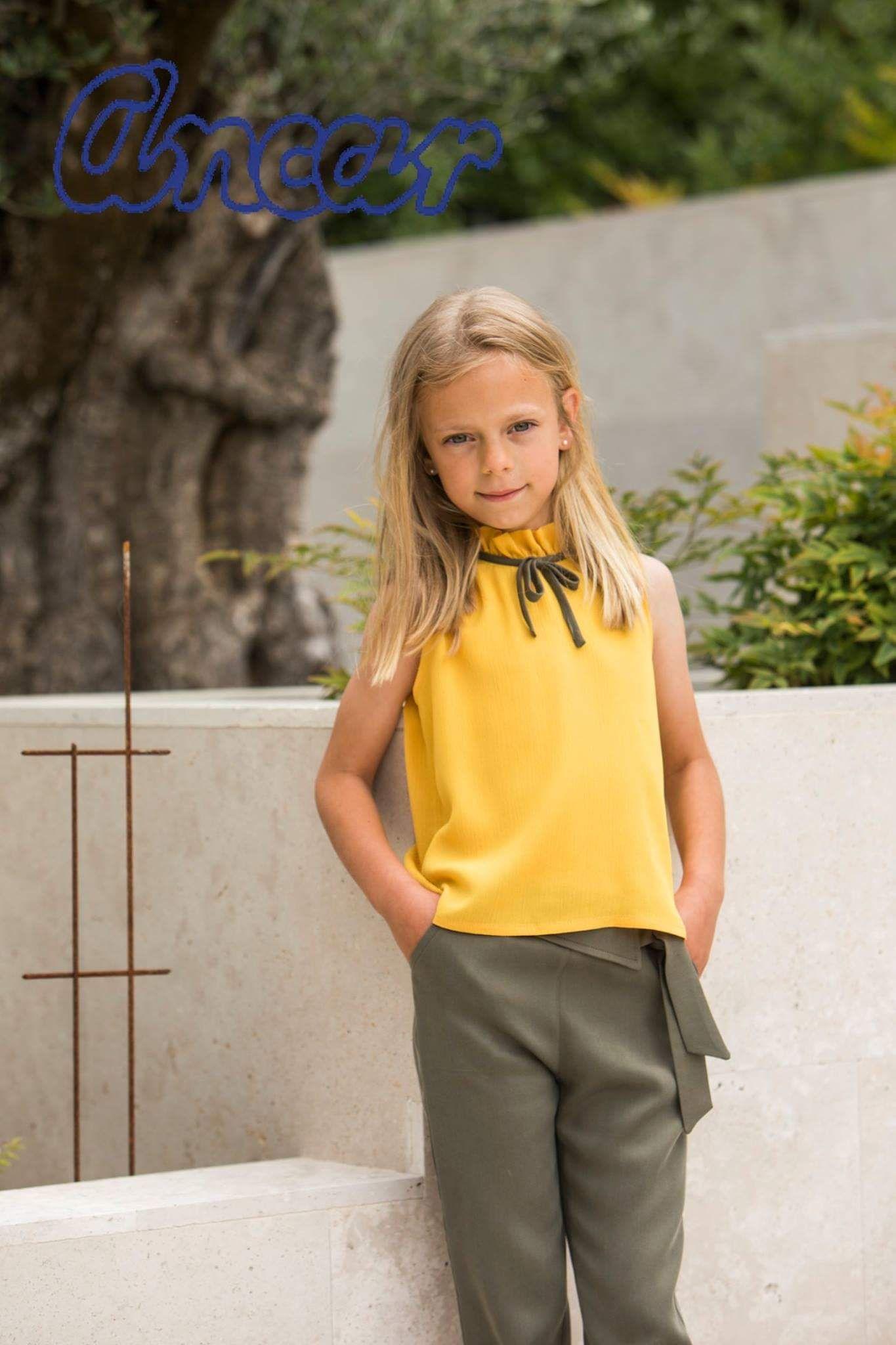 Colecciones de moda infantil Ames