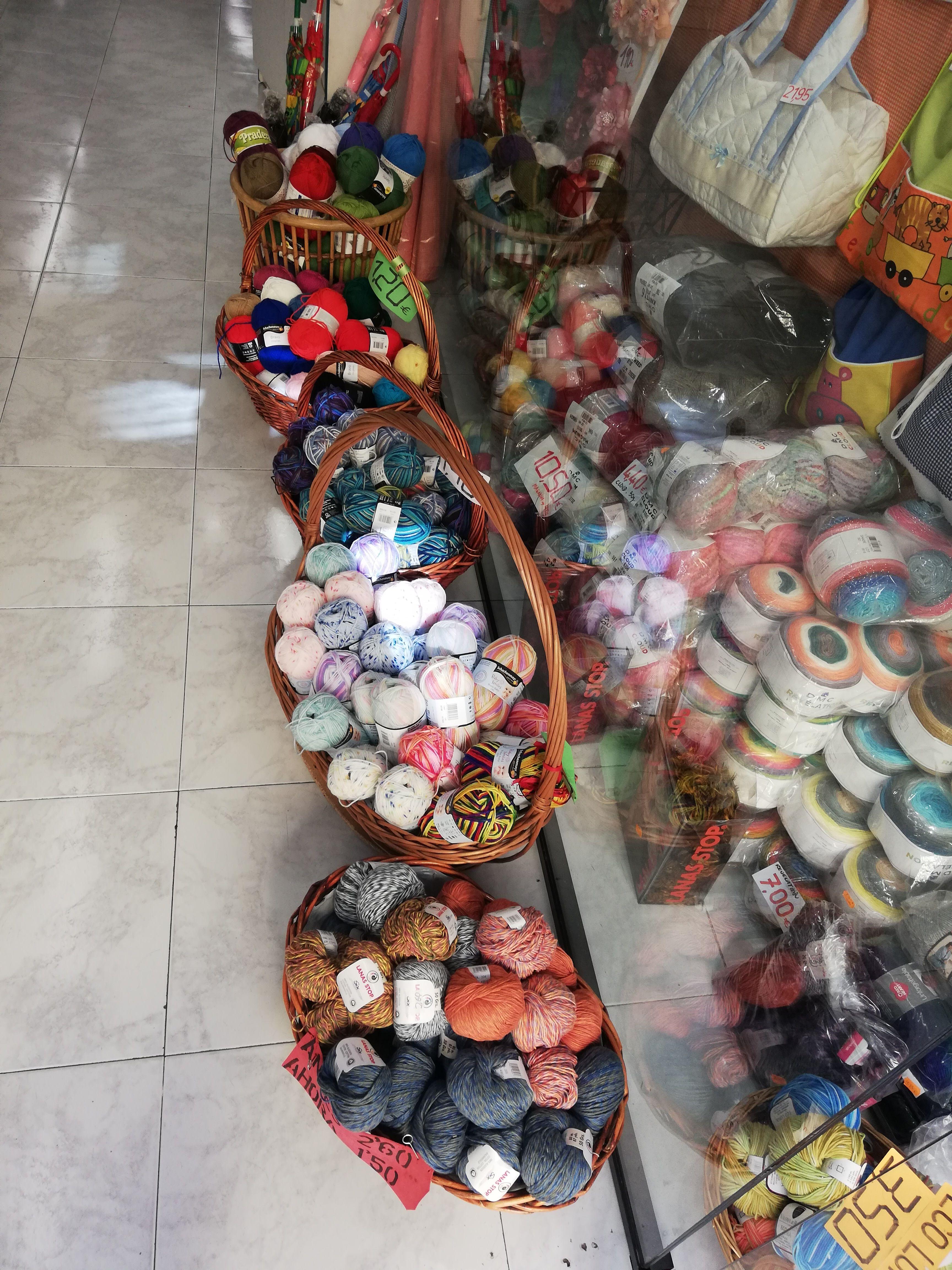 Productos de mercería en Tenerife
