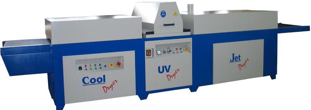 Horno mixto para tintas UV