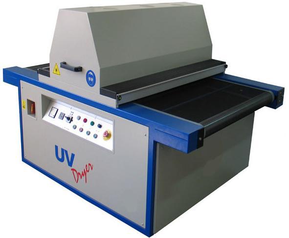 Máquina para secado de tintas UV