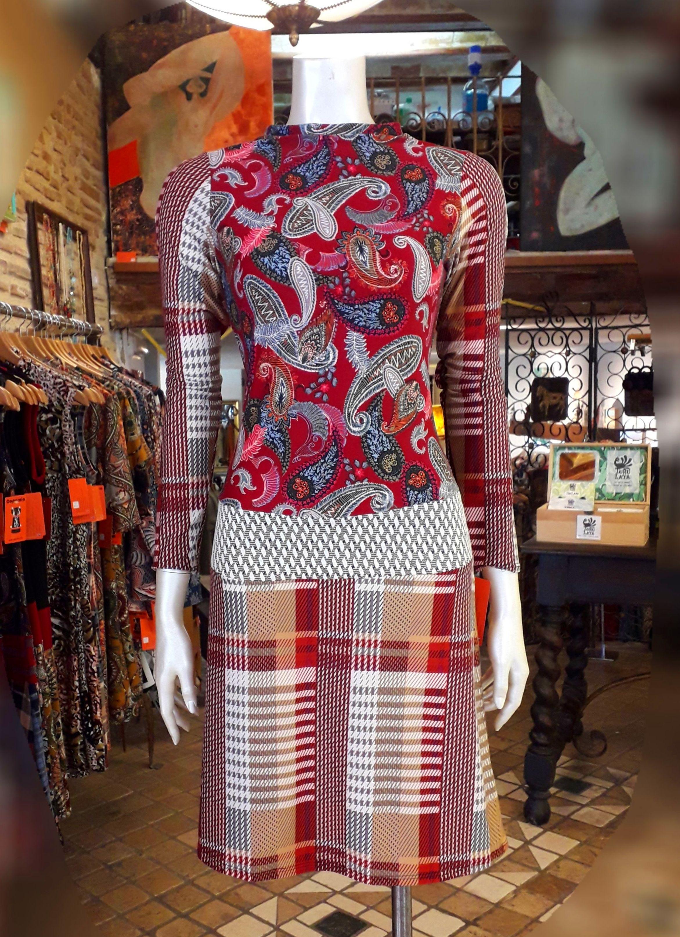 vestido LOREAN: WINTER COLLECTION 19 de Copernia