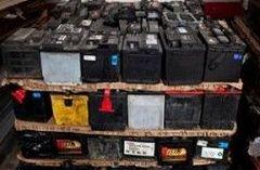 Reciclaje de baterías de plomo: Servicios y Metales de Hierros y Metales Pallardó