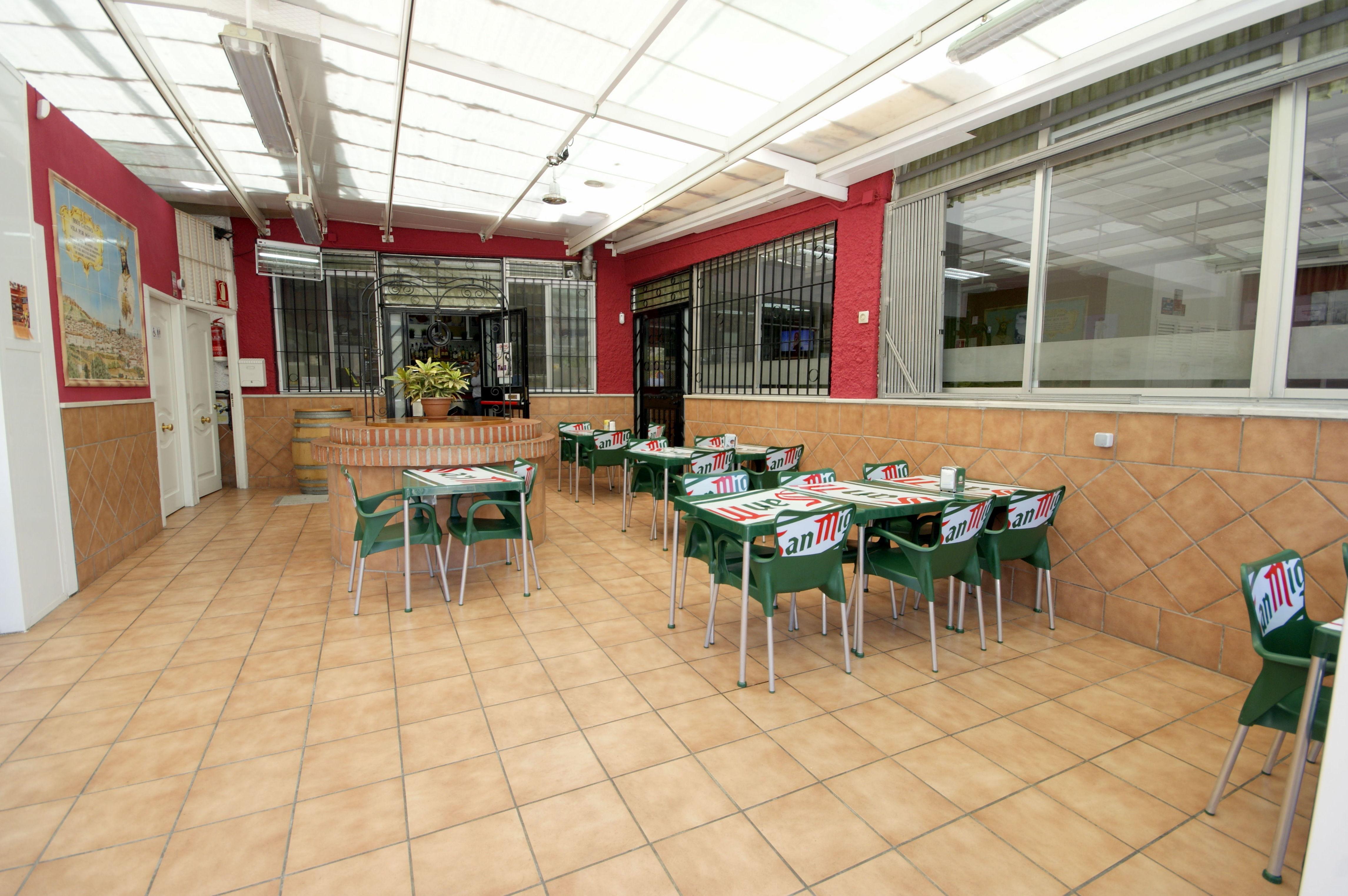 Restaurante con terraza en Málaga