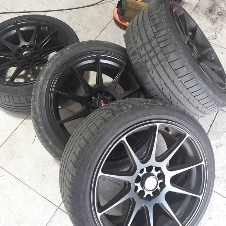 Cambio y sustitución de neumáticos en Ciudadela de Menorca