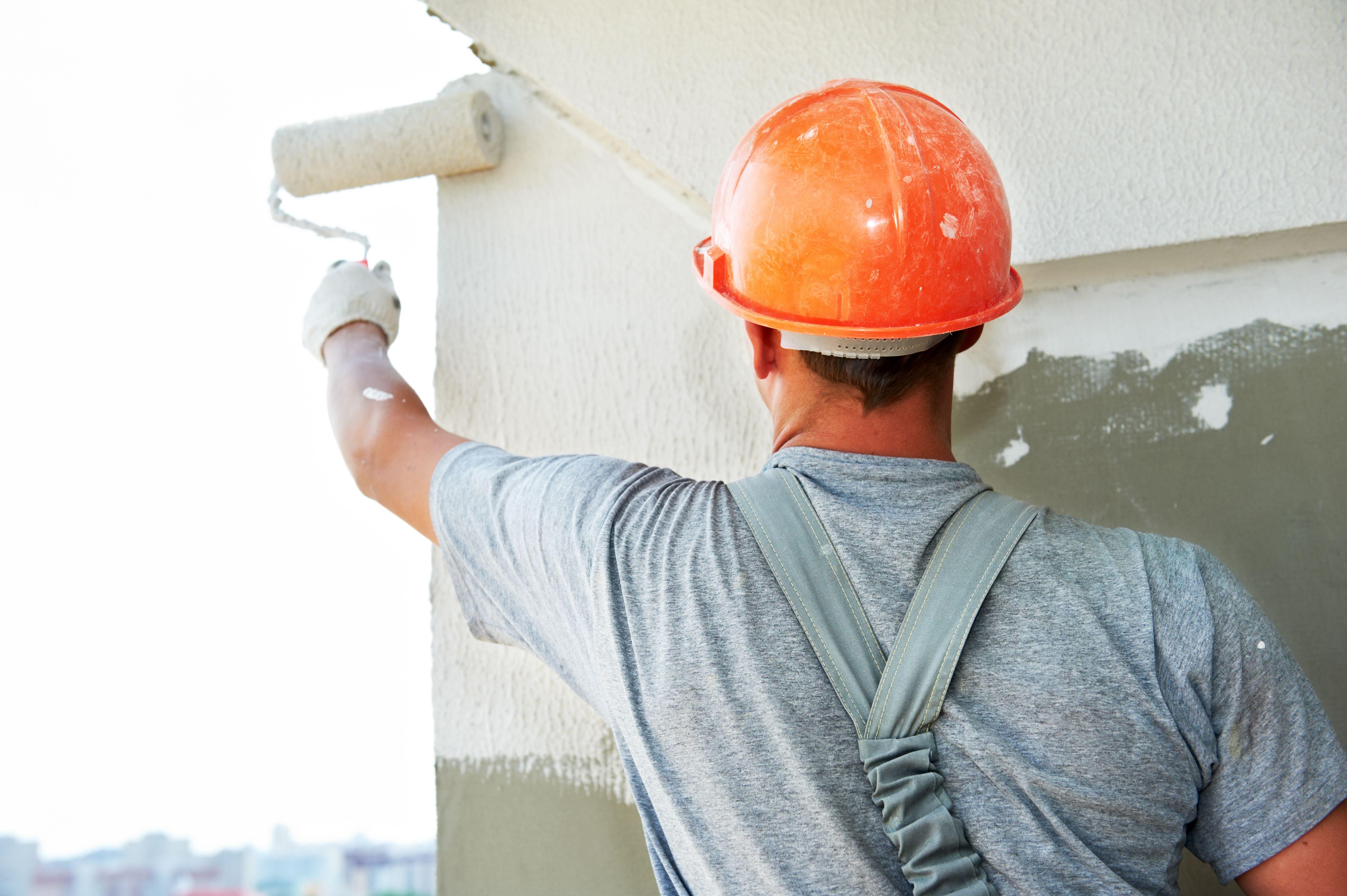 Fachadas y trabajos en altura: Servicios de Pintures Roca Sala