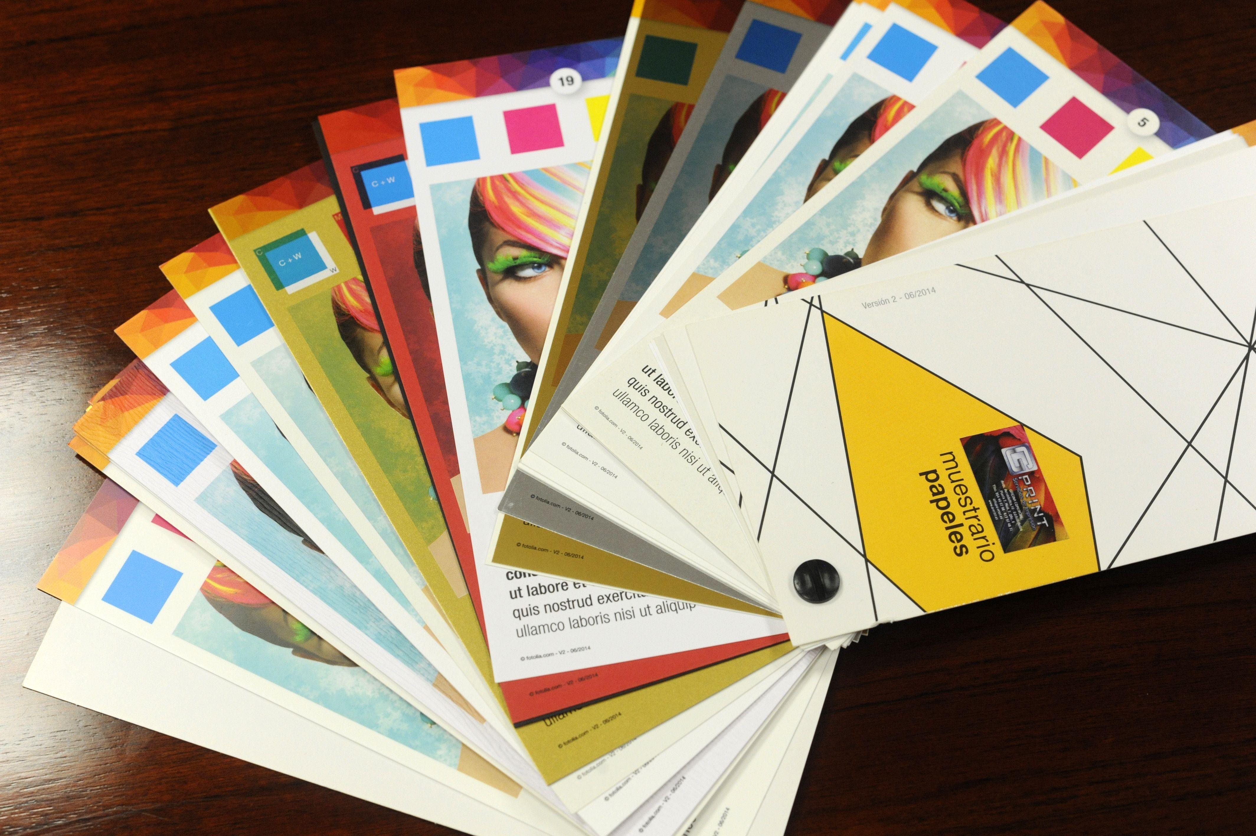 Publicidad a todo color utilizando el sistema digital