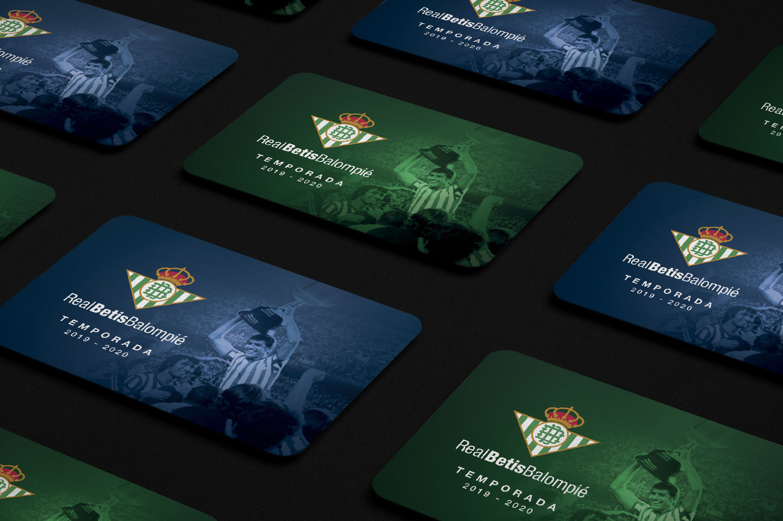 Carnet de socio del Real Betis Balompie
