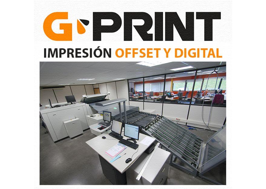 Impresión digital y offset en Sevilla