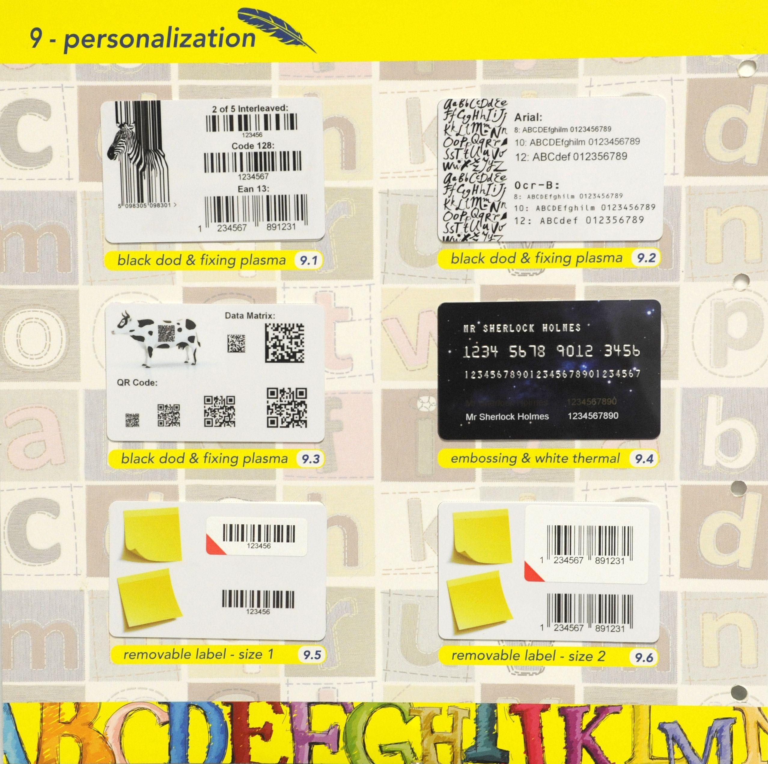 Todo para la imagen corporativa de tu empresa: sobres, folios, etiquetas adhesivas, tarjetas plásticas...