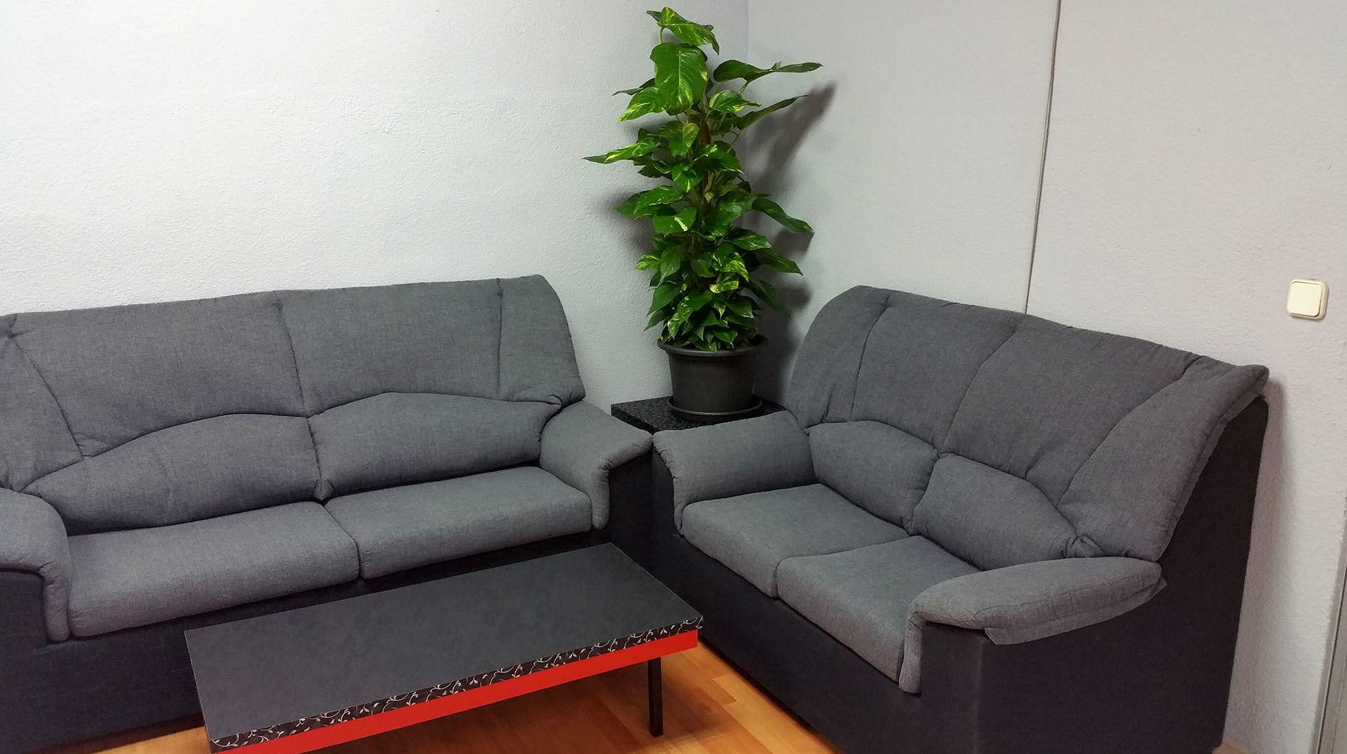 Cómoda sala de espera