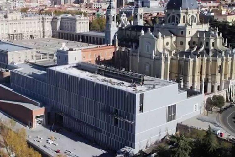 Limpieza del Museo Colecciones Reales Palacio Real de Madrid