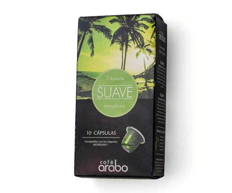 Cápsulas compatibles con máquinas Nespresso Café Arabo Suave