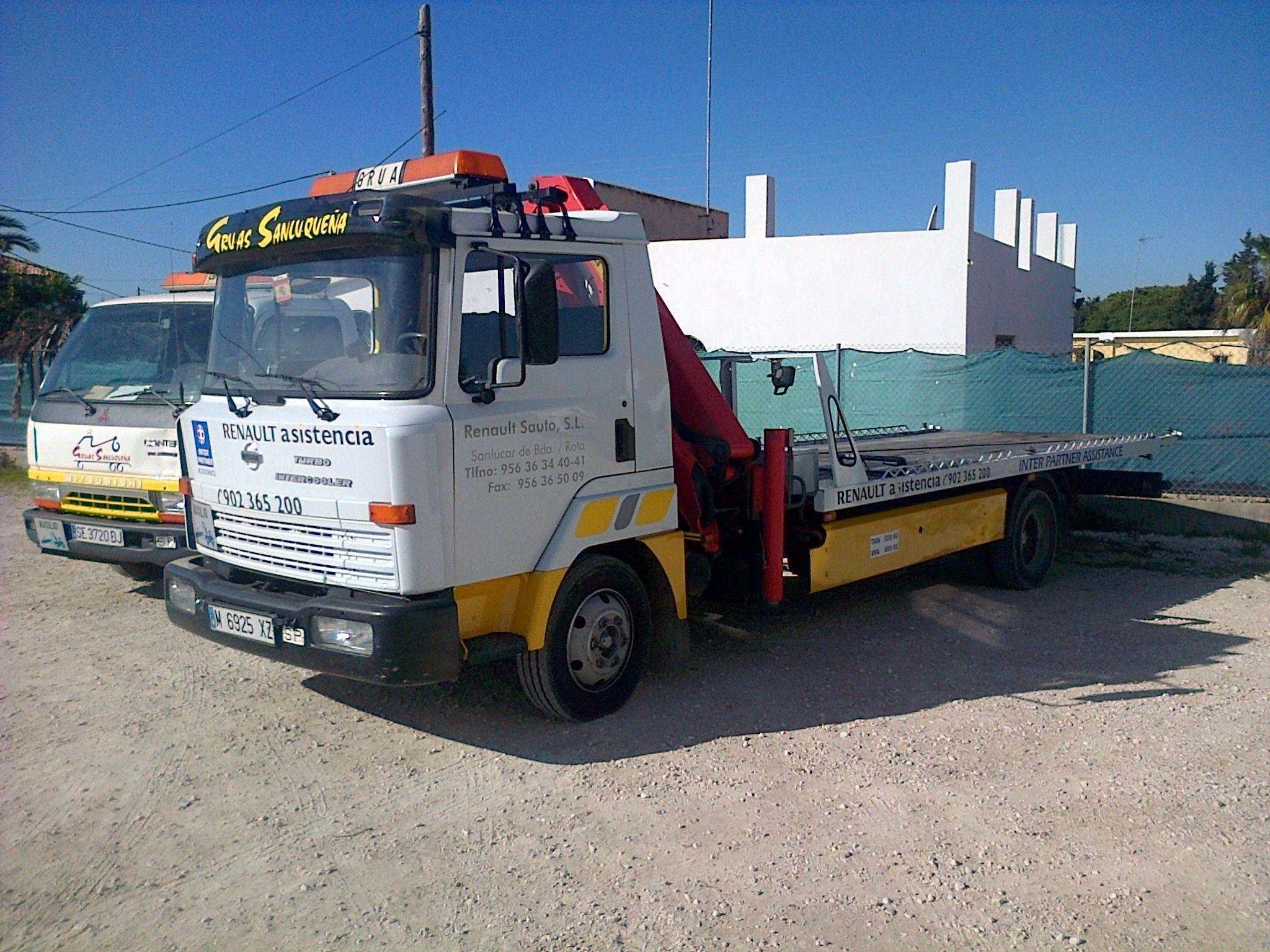 Grúas para camiones
