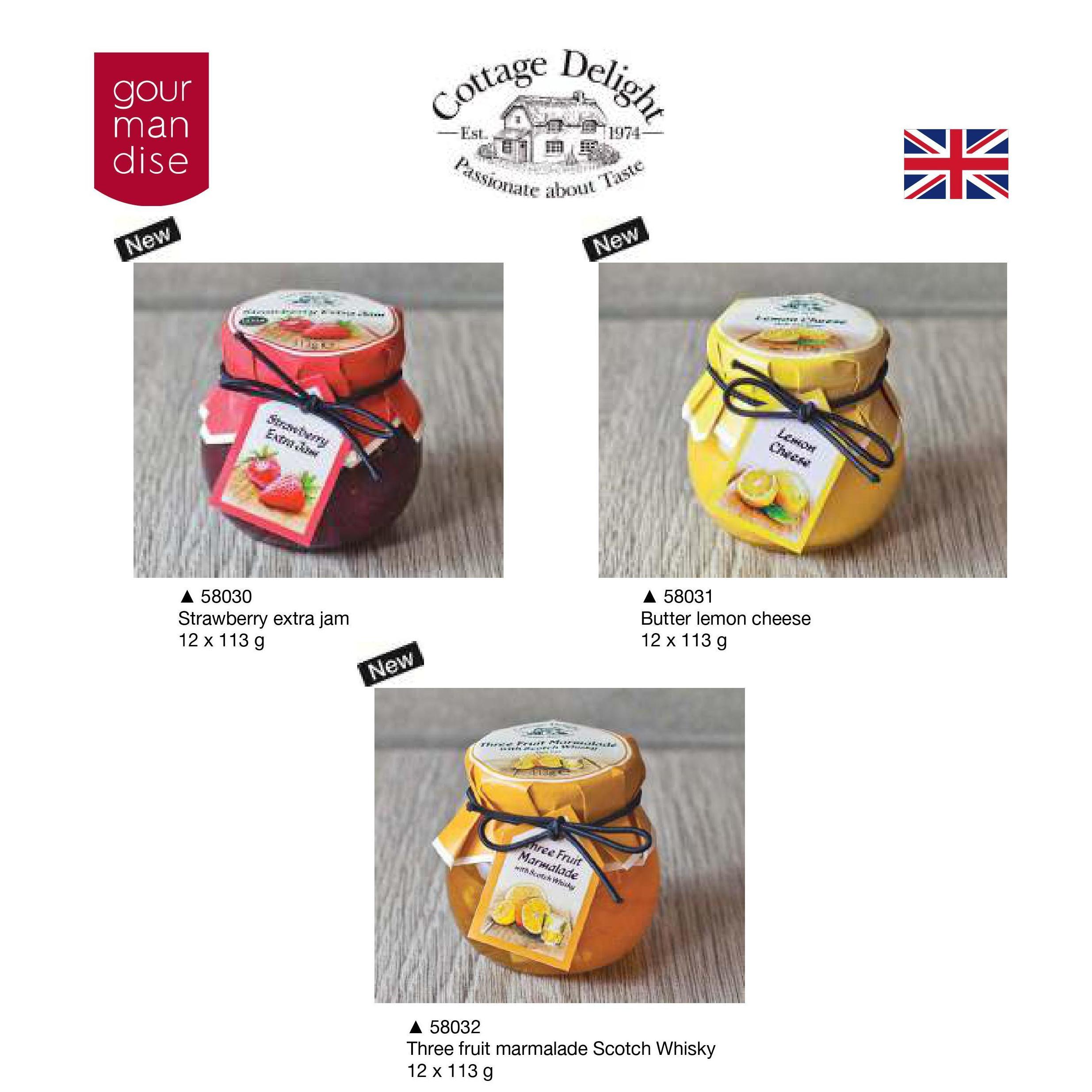 Cottage Delight. Mermeladas y salsas: Productos de Casa Bastida