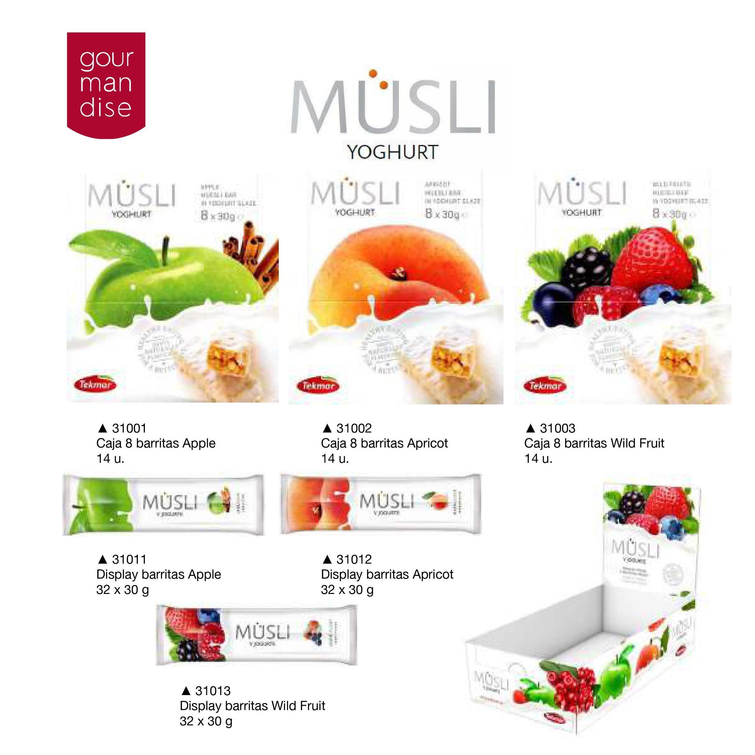 Musli Yoghurt: Productos de Casa Bastida