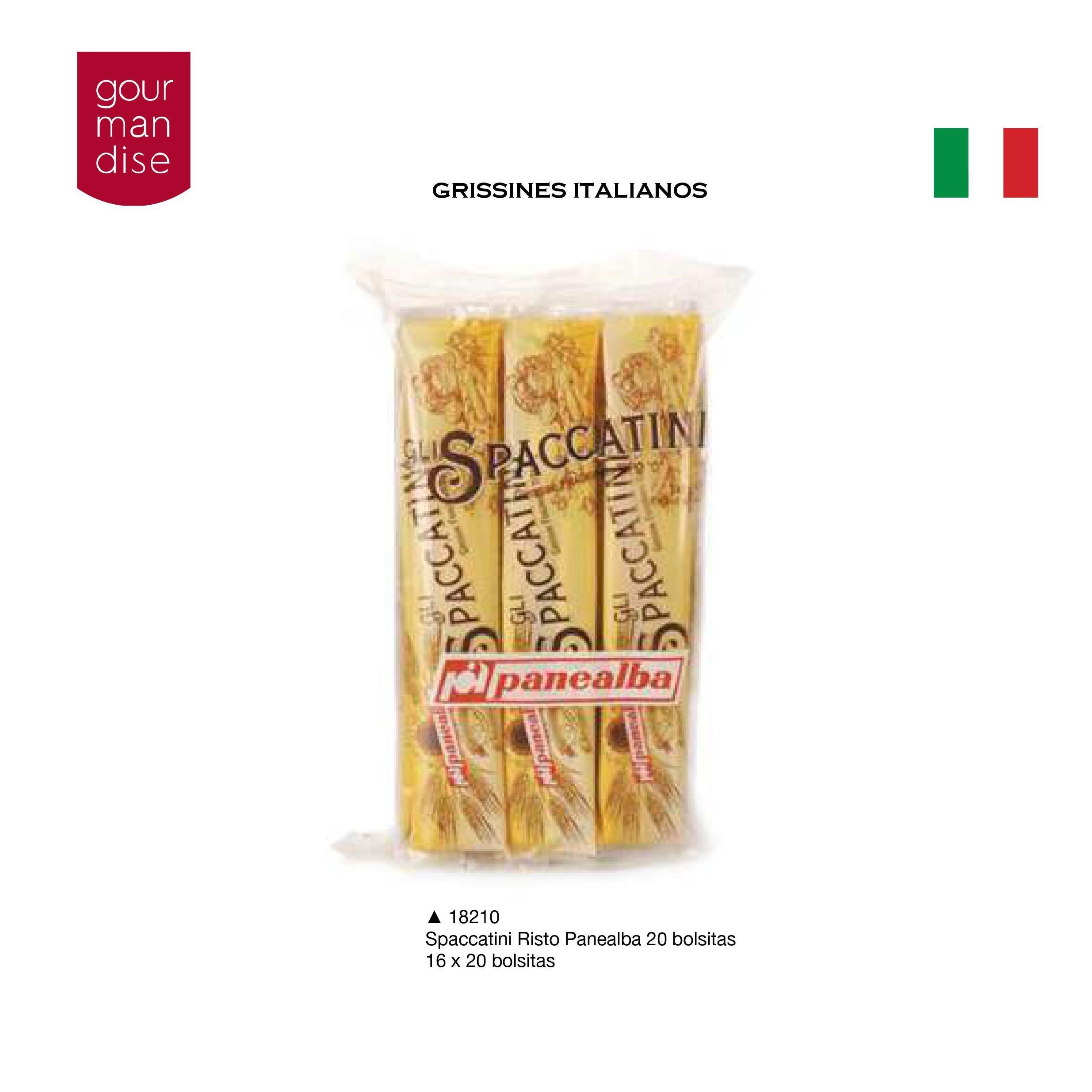Palitos de pan Bastonccini: Productos de Casa Bastida