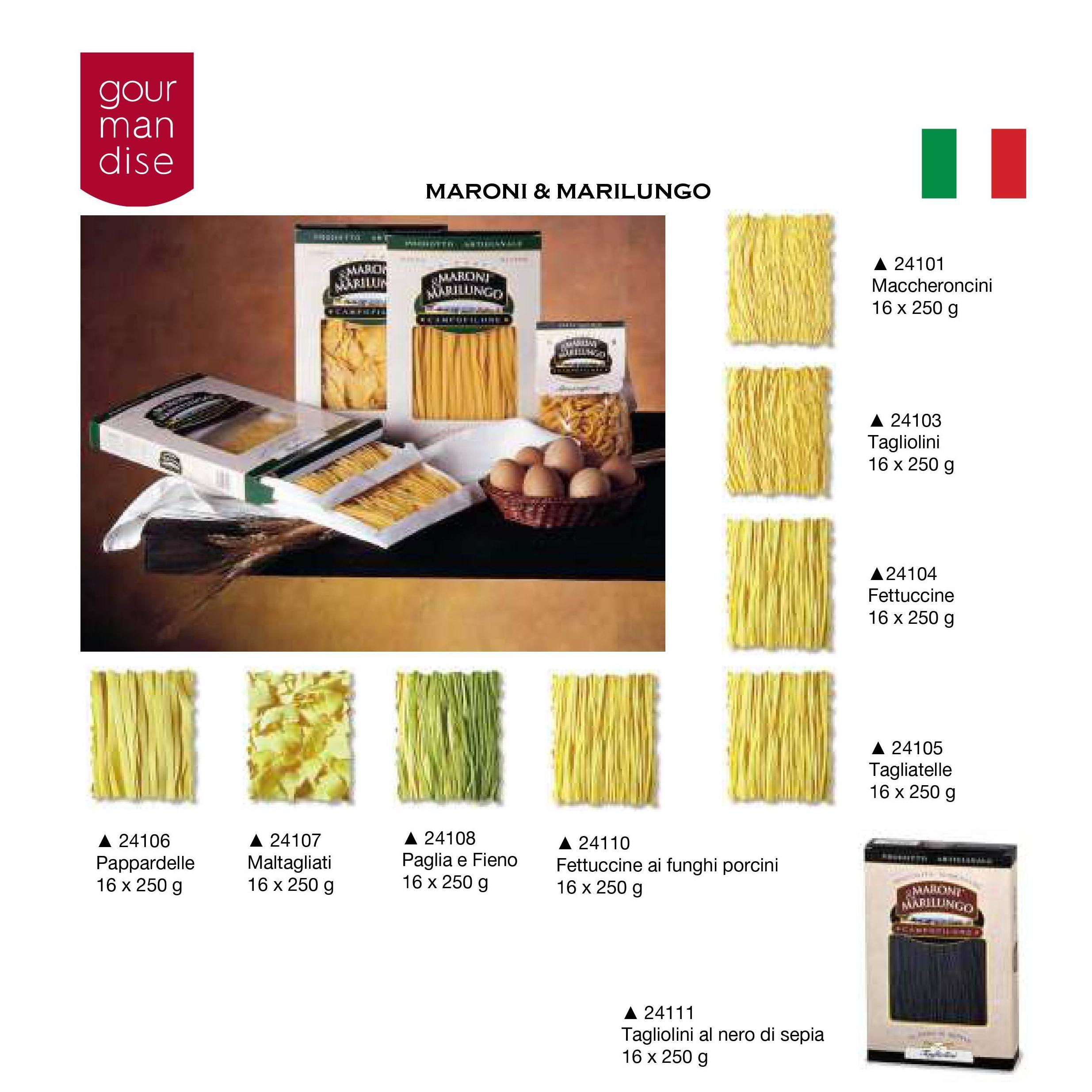 Maroni & Marilungo: Productos de Casa Bastida
